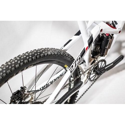 Bicicleta Cannondale MTB Jekyll Carbon 2 20v Branca aro 27.5 Ano 2015 Cannondale