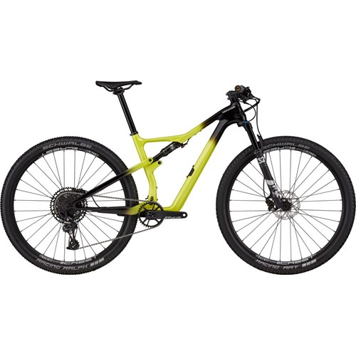 Bicicleta Cannondale MTB Scalpel Carbon 4 SRAM Eagle NX/SX 12v Amarela ano 2021
