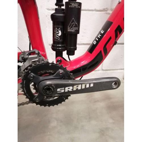 Bicicleta Cannondale MTB Trigger 2 20v aro 27.5 Vermelha Ano 2015 Cannondale