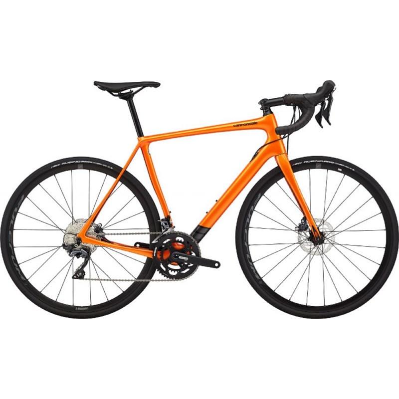 Bicicleta Cannondale Synapse Shimano Ultegra 22v Laranja 2020 Cannondale