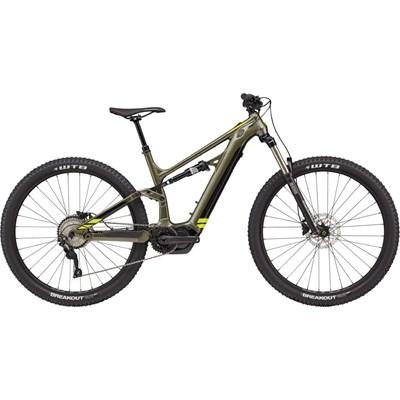 Bicicleta Elétrica Cannondale Moterra 5 Neo Verde ano 2021 Cannondale