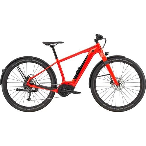 Bicicleta Elétrica Canvas Neo Vermelha