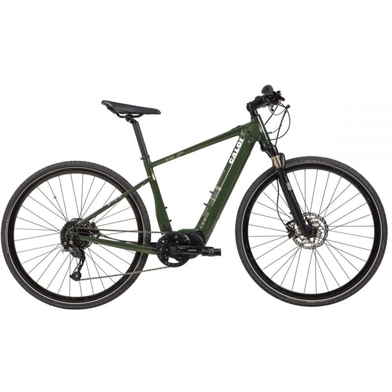 Bicicleta Elétrica E-Vibe City Tour Verde Ano 2021 Caloi