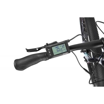 Bicicleta Elétrica E-Vibe Easy Rider Cinza Ano 2020 Caloi