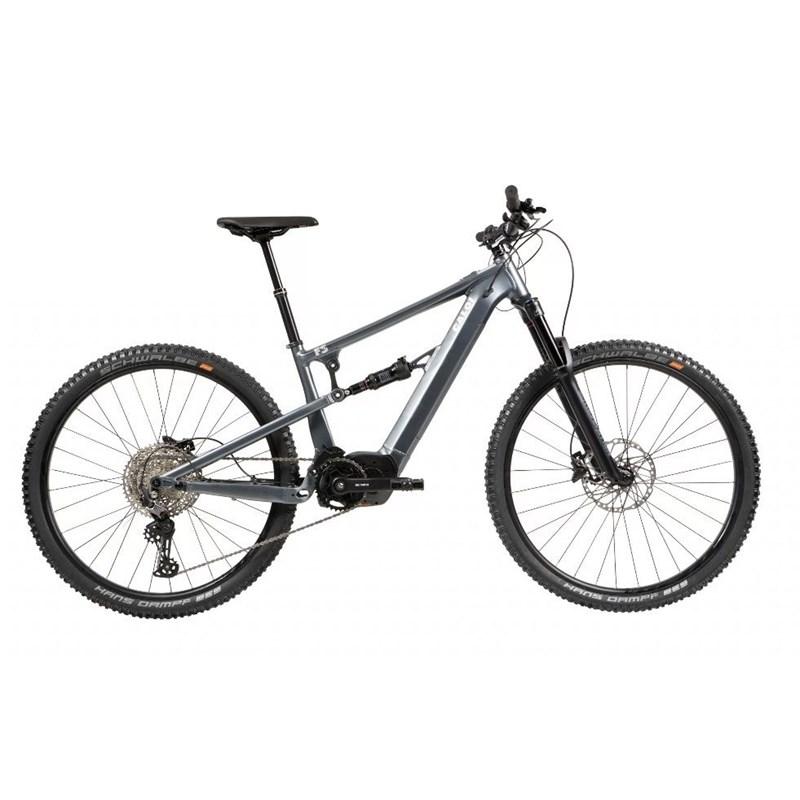 Bicicleta Elétrica E-Vibe Elite FS Cinza Ano 2021 Caloi