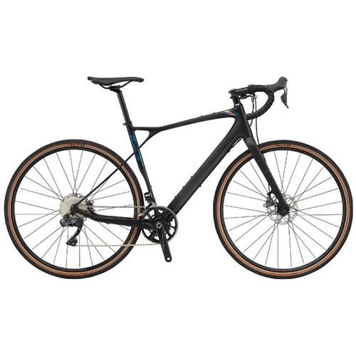 Bicicleta Gravel Grade Carbon PRO 22v Preta Ano 2020 GT