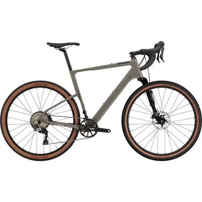 Bicicleta Gravel Topstone Carbon Lefty 3 Shimano GRX 11v Cinza Ano 2021 Cannondale