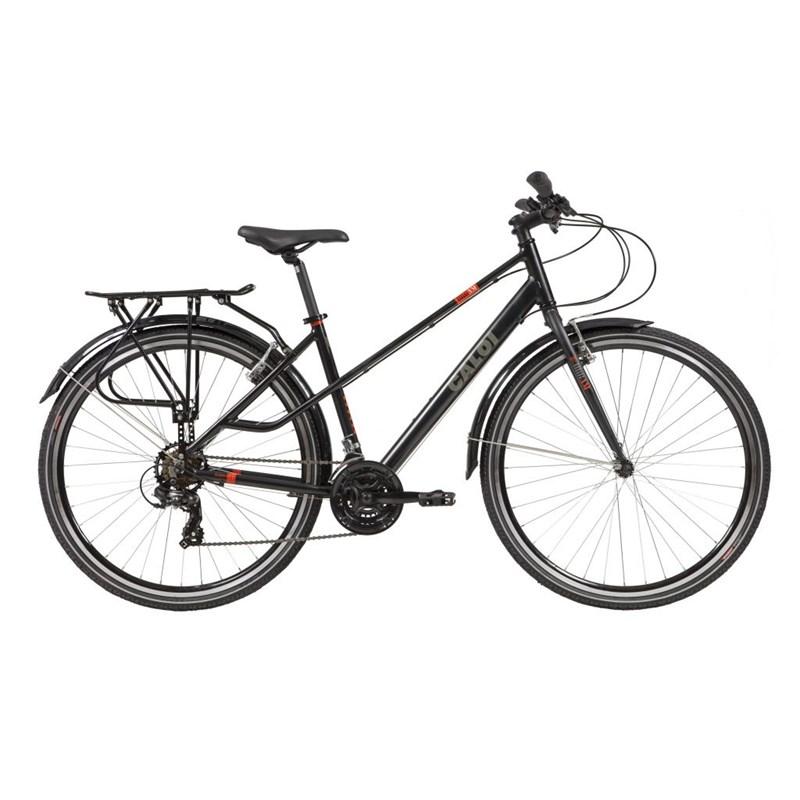Bicicleta Híbrida Urbana Urbam aro 700 21v Preta Ano 2021 Caloi