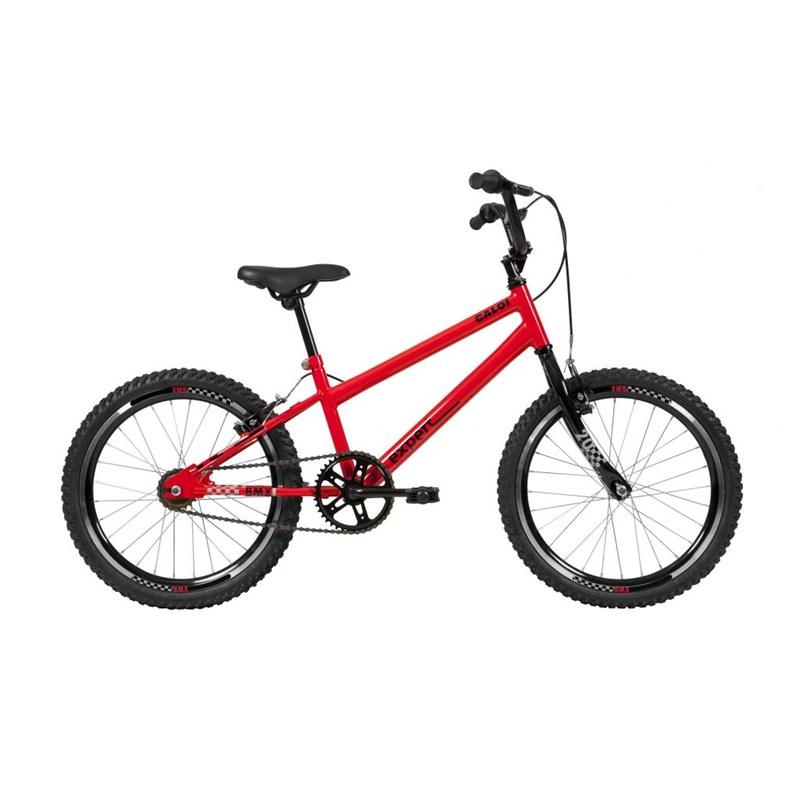 Bicicleta Infantil Caloi Expert aro 20 Vermelha Ano 2021 Caloi