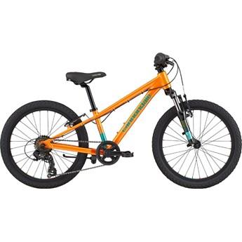 Bicicleta Infantil Cannondale Trail Kids aro 20 7v Laranja ano 2021 Cannondale