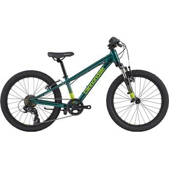 Bicicleta Infantil Cannondale Trail Kids aro 20 7v Verde ano 2021 Cannondale
