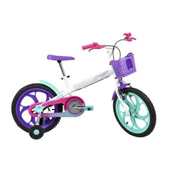 Bicicleta Infantil Ceci aro 16 Branca Ano 2020 Caloi