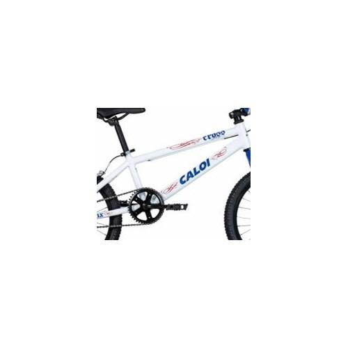 Bicicleta Infantil Cross aro 20 Branco/Azul