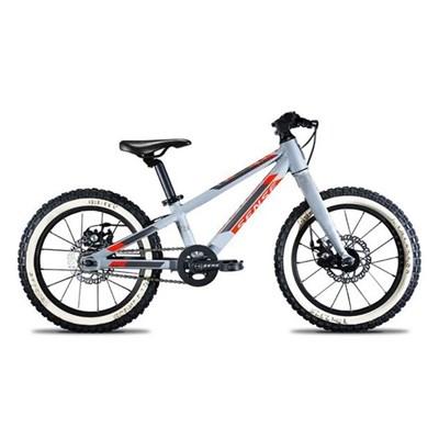 Bicicleta Infantil Impact 16 ano 2020 Cinza e Vermelha