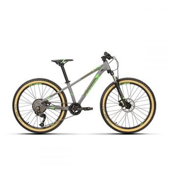 Bicicleta Infantil Impact 24 ano 2020 Cinza e Verde Sense