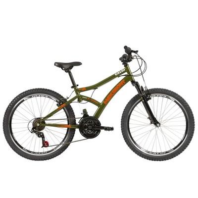 Bicicleta Infantil Max Front aro 24 21v Verde ano 2021