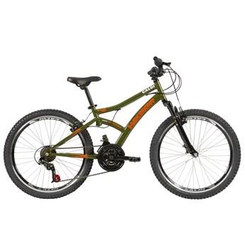 Bicicleta Infantil Max Front aro 24 21v Verde ano 2021 Caloi