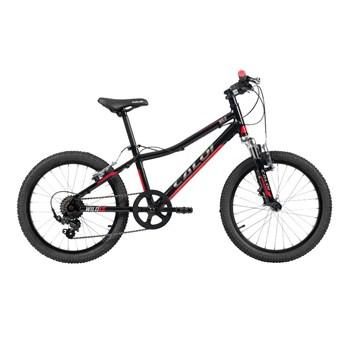 Bicicleta Infantil Wild XS Aro 20 7v Preta e Vemelha Ano 2021 Caloi