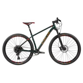 Bicicleta MTB Caloi Elite Sram SX Eagle 12v Verde ano 2020 Caloi