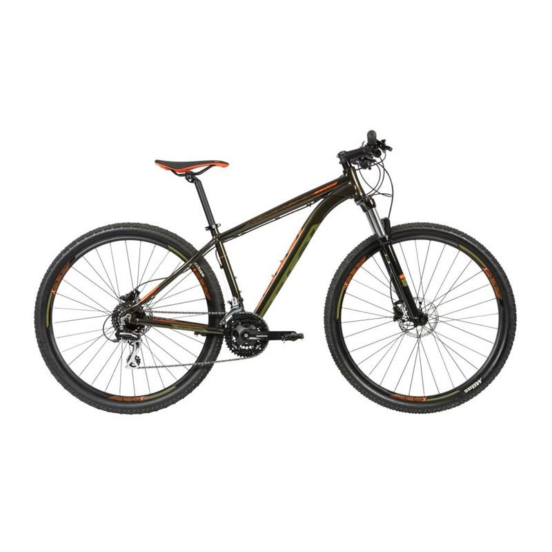 Bicicleta MTB Caloi Explorer Comp Shimano Altus/Acera 24v Verde Ano 2020 Caloi