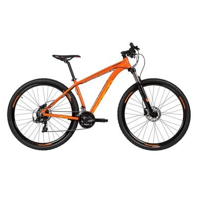 Bicicleta MTB Caloi Explorer Sport Shimano Tourney 21v Laranja Ano 2020