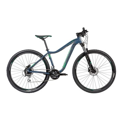 Bicicleta MTB Caloi Kaiena Comp Shimano Altus/Acera 24v Azul Ano 2020 Caloi
