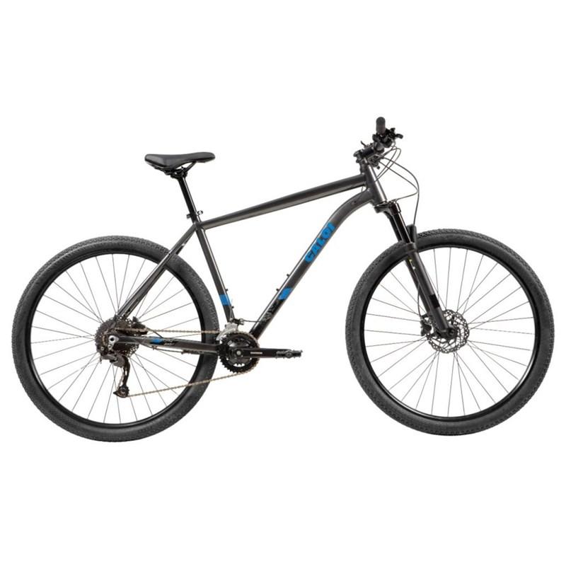 Bicicleta MTB Explorer Comp Shimano Alivio 18v Cinza Ano 2021 Caloi