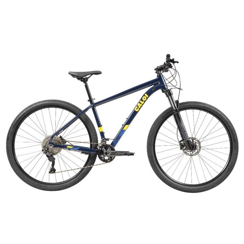 Bicicleta MTB Explorer Expert Shimano Deore 20v Azul Ano 2021 Caloi