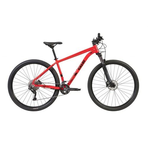 Bicicleta MTB Explorer Expert Shimano Deore 20v Vermelha Ano 2021 Caloi