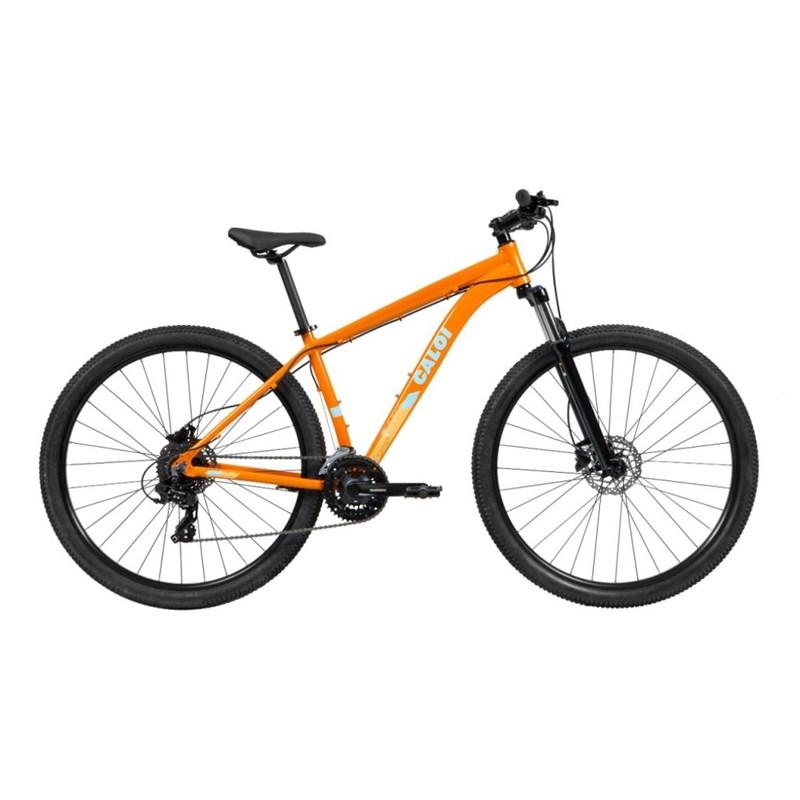 Bicicleta MTB Explorer Sport Shimano Tourney 24v Laranja Ano 2021 Caloi