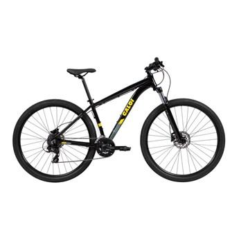 Bicicleta MTB Explorer Sport Shimano Tourney 24v Preta Ano 2021 Caloi