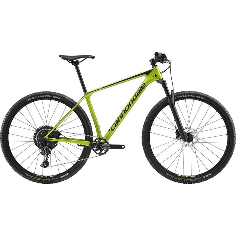 Bicicleta MTB F-SI Carbon 5 SRAM NX Eagle 12v Verde Ano 2019 Cannondale