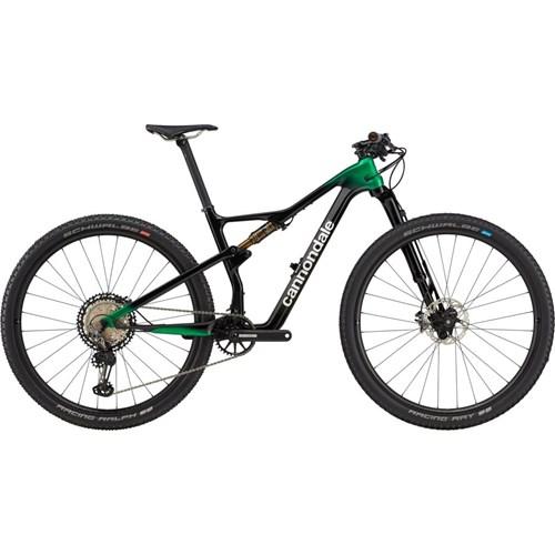 Bicicleta MTB Scalpel Hi-Mod 12v Preta e Verde ano 2021 Cannondale