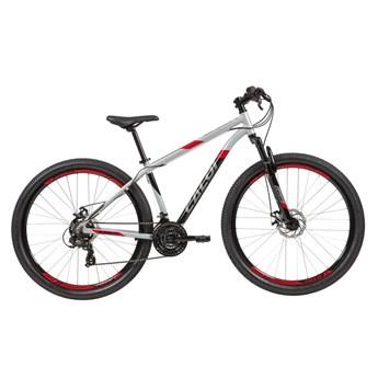 Bicicleta MTB Supra Shimano Tourney 21 Velocidades Prata ano 2021 Caloi