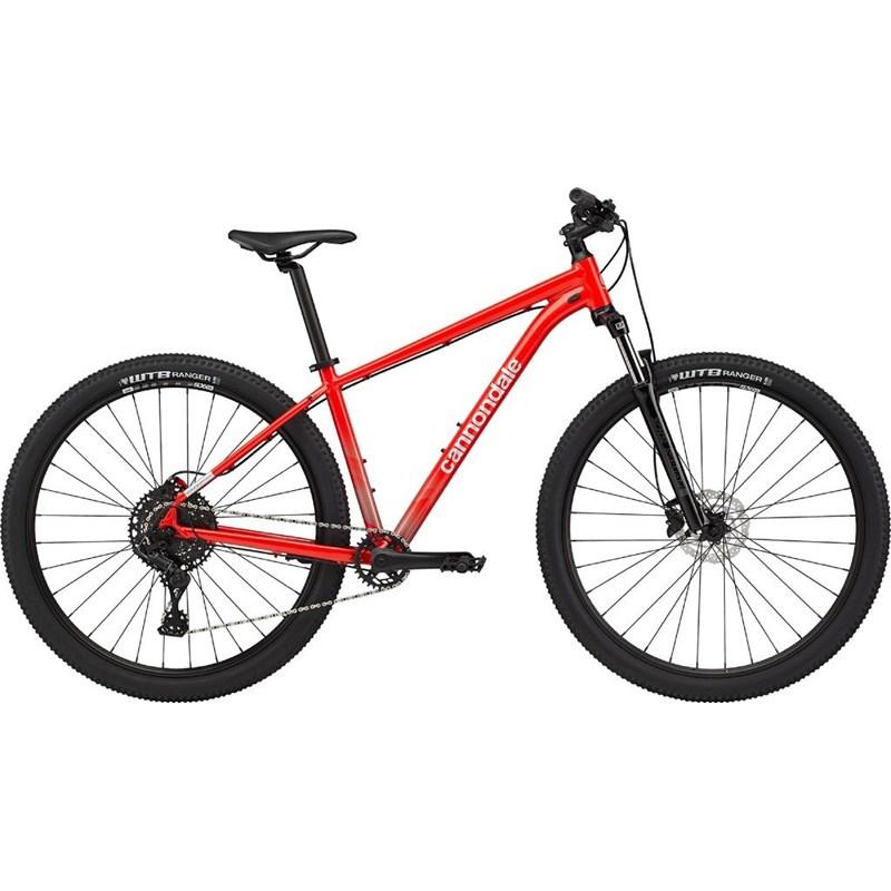 Bicicleta MTB Trail 5 MicroShift 10v Vermelha Ano 2021 Cannondale