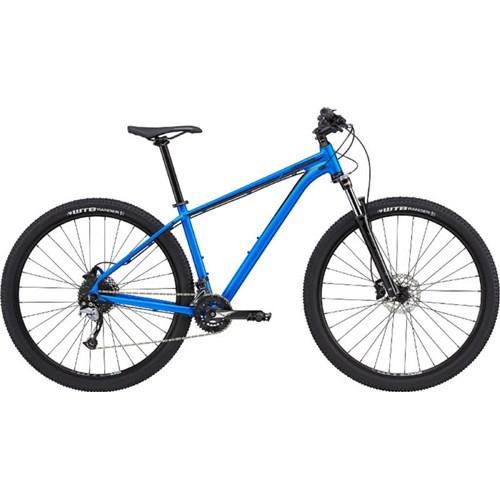 Bicicleta MTB Trail 5 Shimano Acera 18v Ano 2020 Azul Cannondale