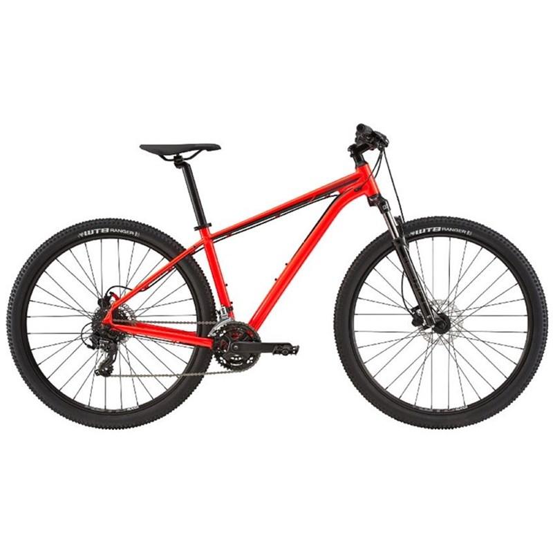 Bicicleta MTB Trail 7 Shimano Tourney/Altus 24v Vermelha ano 2020 Cannondale