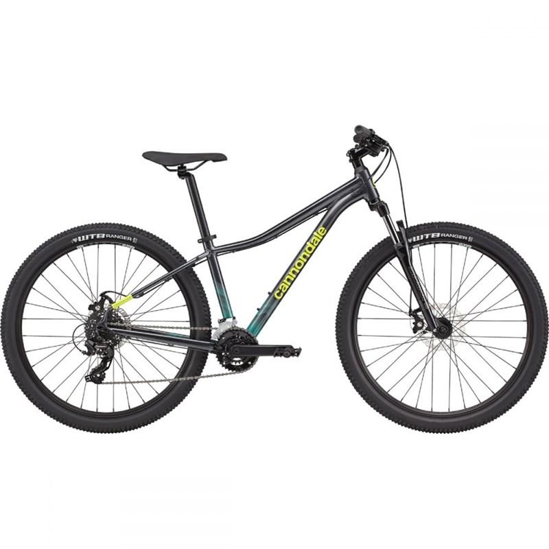 Bicicleta MTB Trail 8 Feminina MicroSHIFT 14v Azul Ano 2021 Cannondale