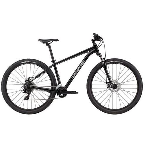 Bicicleta MTB Trail 8 MicroSHIFT 14v Preta Ano 2021 Cannondale