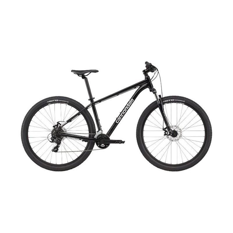 Bicicleta MTB Trail 8 Shimano Tourney/Altus 14v Cinza Ano 2021 Cannondale