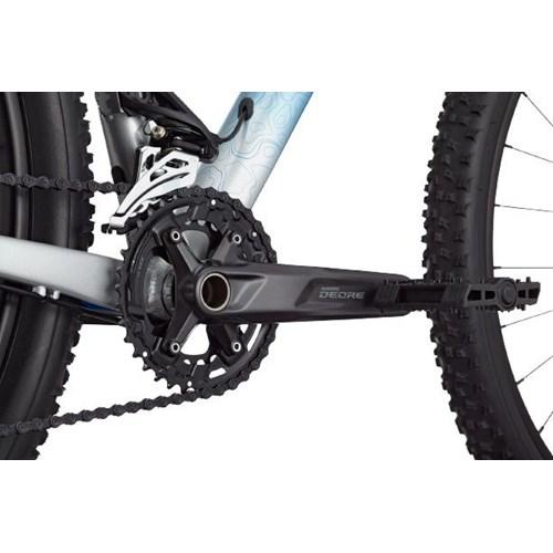 Bicicleta MTB Trail SL 4 Shimano Deore 11 velocidades Azul Ano 2021 Cannondale