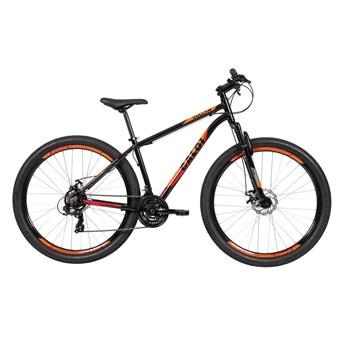 Bicicleta MTB Vulcan Shimano Tourney 21v Preta Ano 2021 Caloi