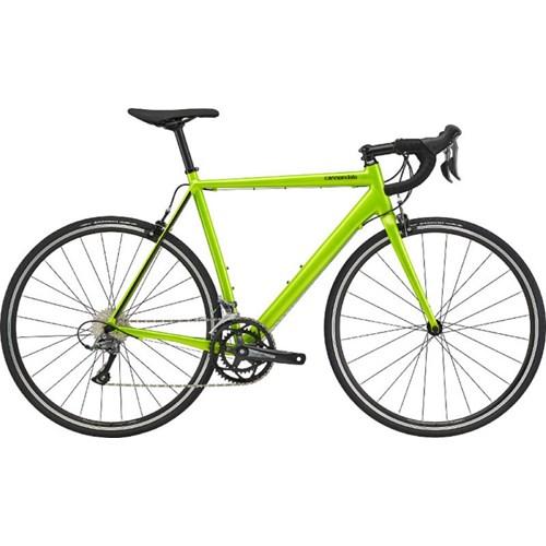 Bicicleta Speed CAAD Optimo Shimano Claris 16v Verde Ano 2020 Cannondale