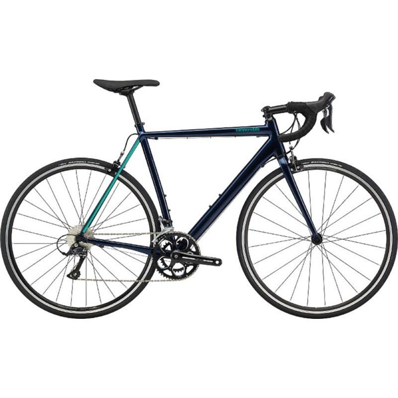 Bicicleta Speed CAAD Optimo Shimano Sora 18v Azul Ano 2020 Cannondale