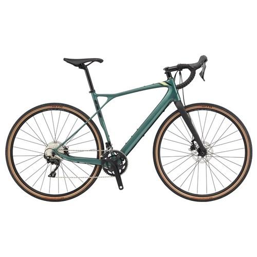 Bicicleta Speed Grade Carbon Expert Shimano 105 22v Verde ano 2020