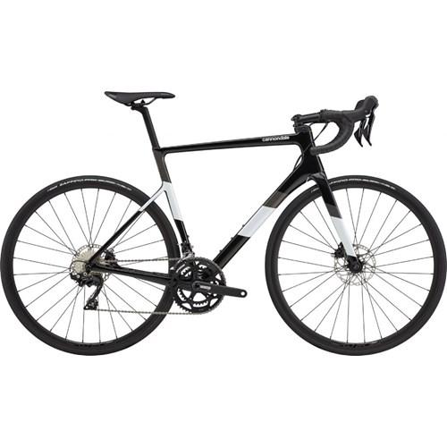 Bicicleta Speed Supersix Evo Carbon Disc Shimano 105 22v Preta Ano 2021 Cannondale