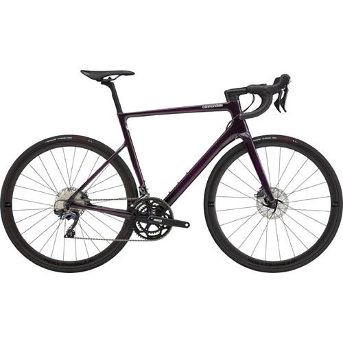 Bicicleta Speed Supersix Evo Carbon Disc Ultegra 22v Roxa Ano 2021 Cannondale