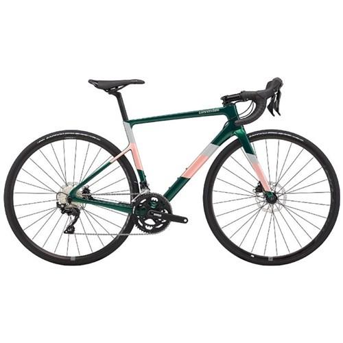 Bicicleta Speed Supersix Evo Carbon Shimano 105 Disc 11v Verde Ano 2020 Cannondale