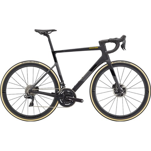 Bicicleta Speed Supersix Evo Hi-Mod Shimano Dura-Ace DI2 Disc 22v Preta Ano 2020 Cannondale