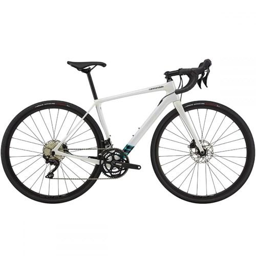 Bicicleta Speed Synapse Shimano 105 22v Branca ano 2021 Cannondale